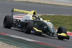 Kierowca Pietro Peccenini Wyzwanie formuła zdjęcia royalty free