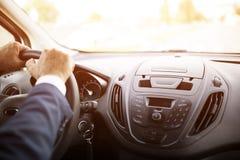 Kierowca ręki obraz stock