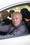kierowca stary Obrazy Royalty Free