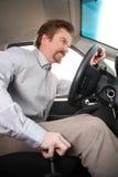 kierowca szalenie Zdjęcie Royalty Free