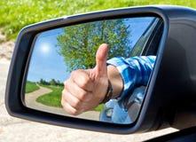 kierowca szczęśliwy Fotografia Stock