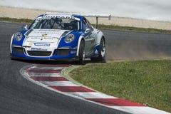 Kierowca Vincent Beltoise carrera filiżanka Porsche Zdjęcie Royalty Free