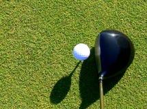kierowcy balowy golf Obrazy Royalty Free
