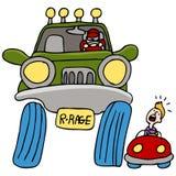 kierowcy furii droga Obrazy Stock
