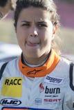 Kierowcy Laia Sanz Barcelona FIA świat Rallycross Obraz Stock