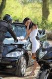 kierowcy mapy czytelnicza droga Zdjęcie Royalty Free