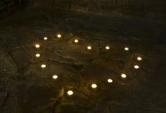 kierowe świece Zdjęcia Royalty Free