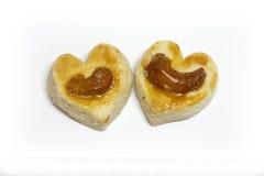 Kierowi kształtów ciastka Fotografia Stock