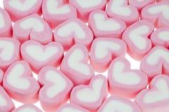 Kierowi kształtów marshmallows Fotografia Stock