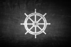 Kierownica symbol Fotografia Stock