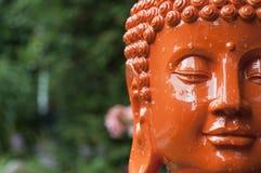 kierownicza Buddha pomarańcze Obraz Royalty Free