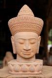kierownicza cambodian statua fotografia royalty free