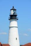 kierownicza latarnia morska Maine Portland Zdjęcie Stock