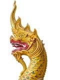 Kierownicza wąż statua zdjęcie royalty free