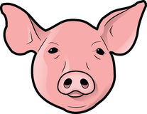 kierownicza świnia s ilustracja wektor