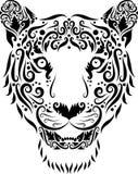 kierowniczego ornamentu tygrys Fotografia Stock