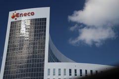Kierowniczy biuro energetyczna firma Eneco w Rotterdam holandie zdjęcia stock