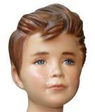 kierowniczy dziecka mannequin Obrazy Royalty Free