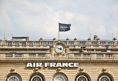kierowniczy France lotniczy biuro Obraz Royalty Free