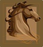 kierowniczy koń Zdjęcia Royalty Free