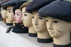 Kierowniczy mannequins w kapeluszach Obraz Royalty Free
