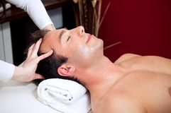 kierowniczy masaż obrazy stock