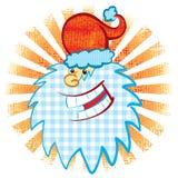 kierowniczy s Santa ilustracji