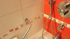kierowniczy strzał zamknięta kierownicza prysznic zbiory wideo