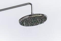 kierowniczy strzał zamknięta kierownicza prysznic Fotografia Royalty Free