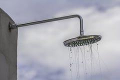 kierowniczy strzał zamknięta kierownicza prysznic Zdjęcie Stock