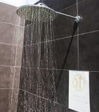 kierowniczy strzał zamknięta kierownicza prysznic obrazy stock