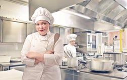 Kierowniczy szef kuchni Fotografia Stock
