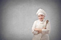 Kierowniczy szef kuchni Obraz Stock