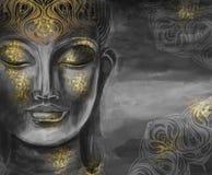 Kierowniczy Uśmiechnięty Buddha Zdjęcia Stock