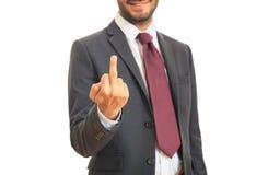 Kierownik robi gestowi Zdjęcia Stock