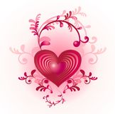 kierowy dzień valentine s Zdjęcie Stock