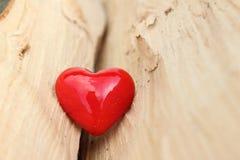 Kierowy i rozmyty drewniany tło Fotografia Stock