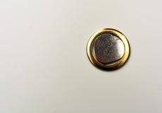 Kierowy kształta metalu talerz Zdjęcie Stock