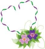 kierowy kwiatu kształt Zdjęcia Stock
