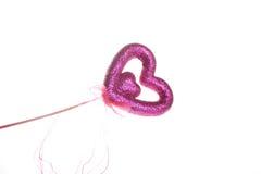 kierowy miłości purpur błyskotanie Zdjęcia Royalty Free