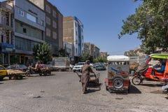 Kierowy miasto - Afganistan obrazy royalty free