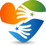 Kierowy opieka logo Fotografia Royalty Free