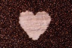Kierowy symbol sorrounded kawowymi fasolami obraz stock