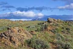 Kierowy widok górski zdjęcia royalty free