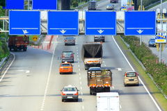 kierunek deskowa highway zdjęcia stock