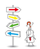 kierunek, który ilustracji