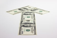 Kierunek pieniądze Fotografia Stock