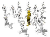 kierunek przed Zdjęcie Stock