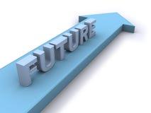 kierunek przyszłość Obrazy Stock