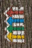 Kierunkowskaz na barkentynie Obrazy Royalty Free
